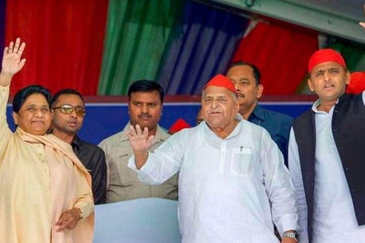 Mayawati, Mulayam Singh Yadav and Akhilesh Yadav | PTI