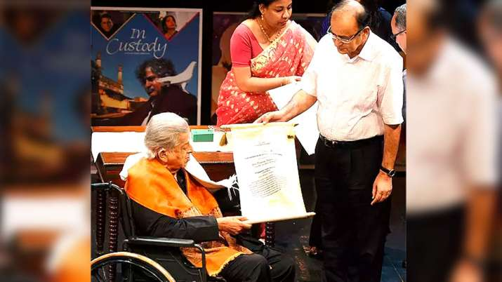 Shashi Kapoor and Arun Jaitley