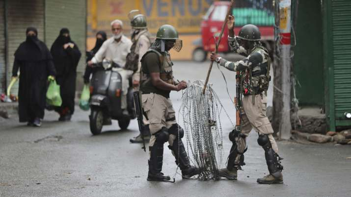 Situation in Kashmir peaceful on Eid, security alert issued