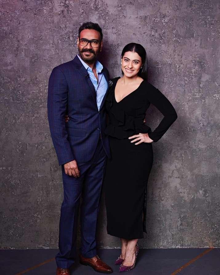 Ajay and Kajol