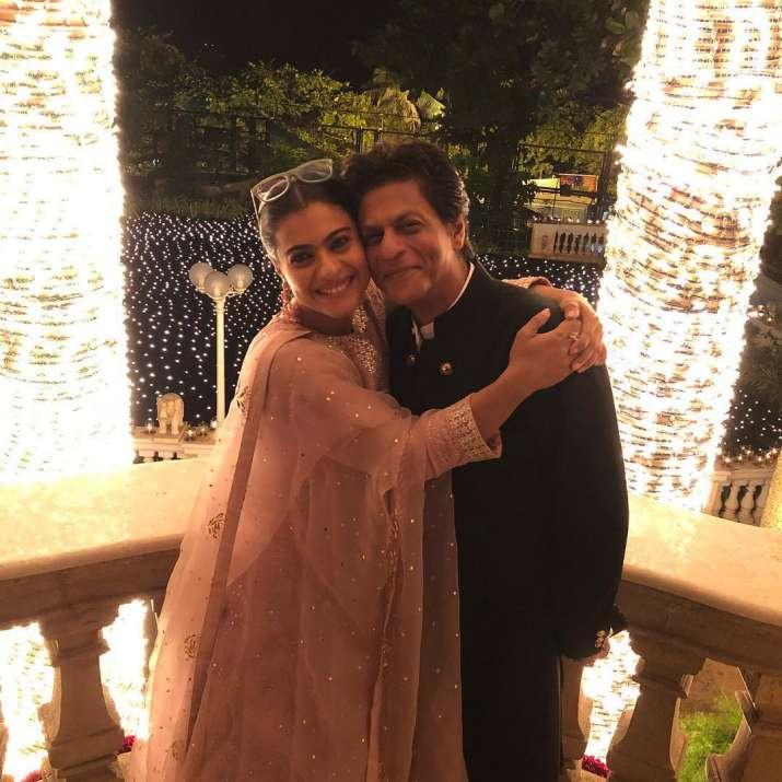 Kajol With Shah Rukh Khan