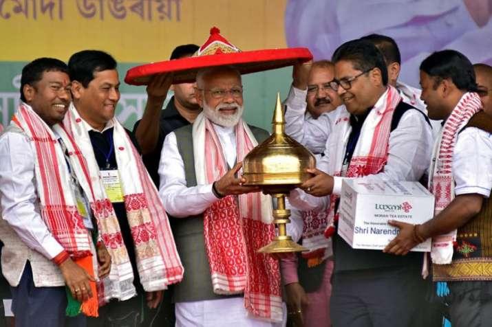 PM Narendra Modi in Assam