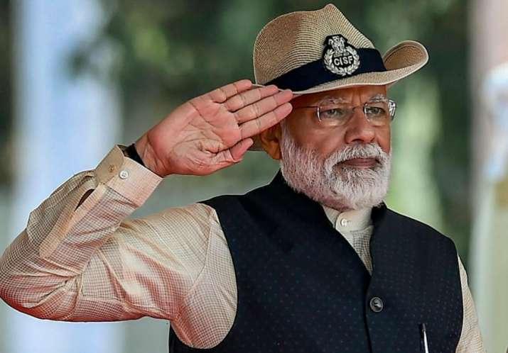 PM Narendra Modi in Ghaziabad