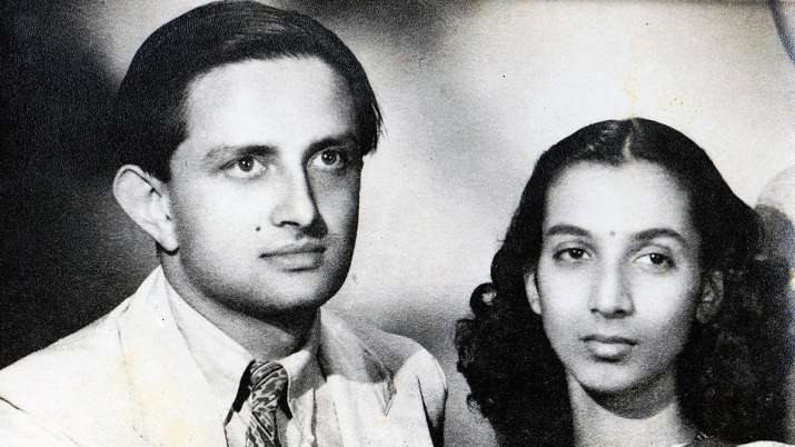 Vikram and Mrinalini Sarabhai