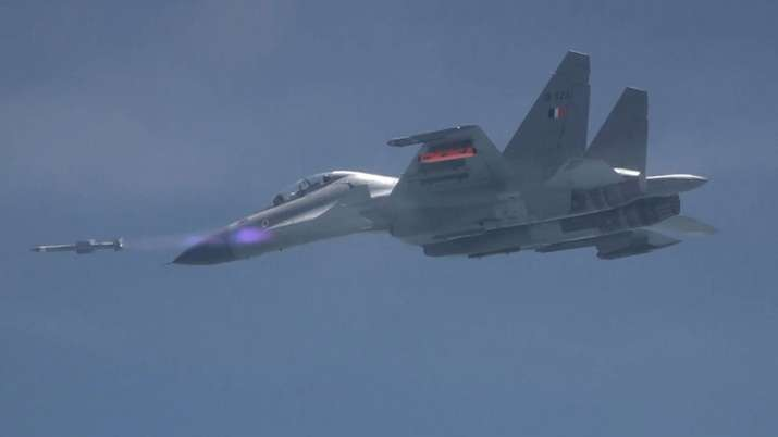 DRDO test fired the Astra Missile