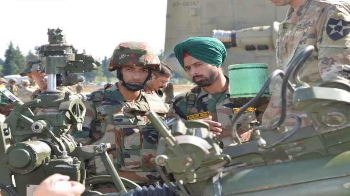 India America War Exercise