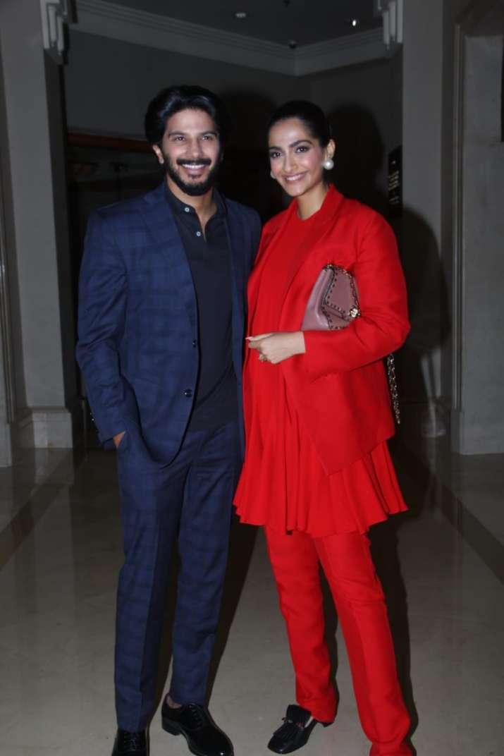 Sonam Kapoor and Dulquer Salman