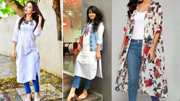 jeans with kurti