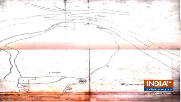 1810 में तैयार किया गया था ये नक्शा