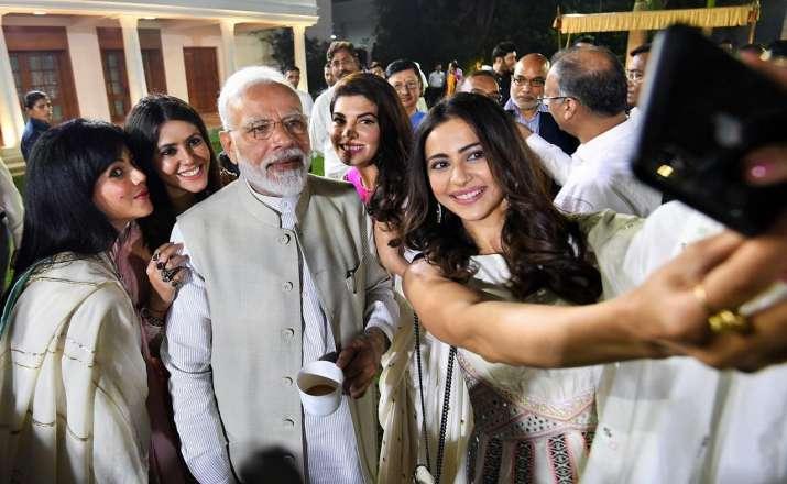 PM Modi with Bollywood Stars