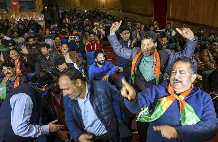 BJP Workers Kashmir