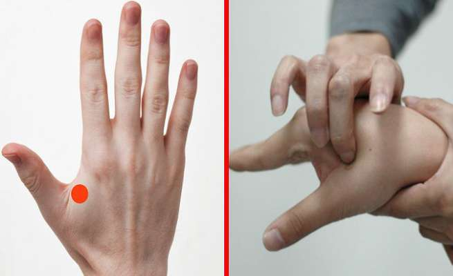 thumb acupressure