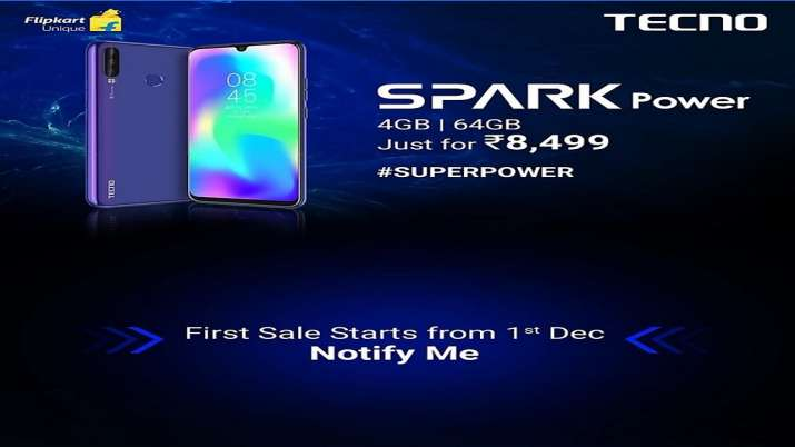 Tecno Spark Power smartphone