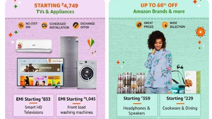 amazon sale 2020, Amazon Great Indian sale 2020, Amazon sale, Amazon India