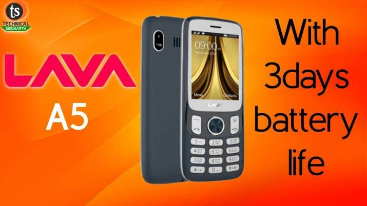 LAVA launches Republic Day edition A5 feature phone