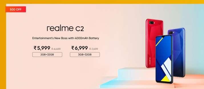 RealMe c2 price, realme sale 2020, realme, Realme smartphones, smartphones