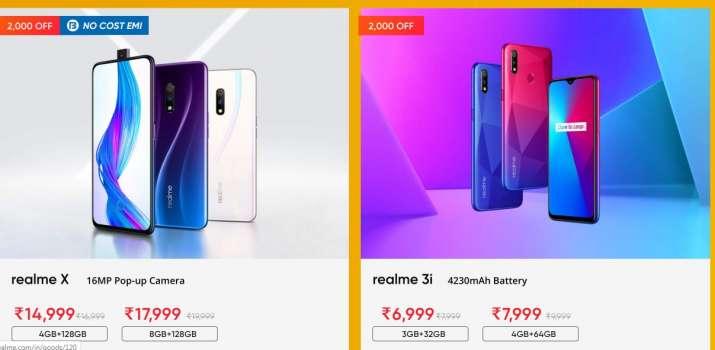 realme sale 2020, realme, Realme smartphones, smartphones, realme x, realme 3i price