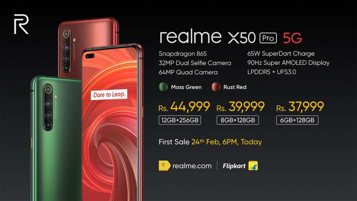 Realme launches its first 5G smartphone in India