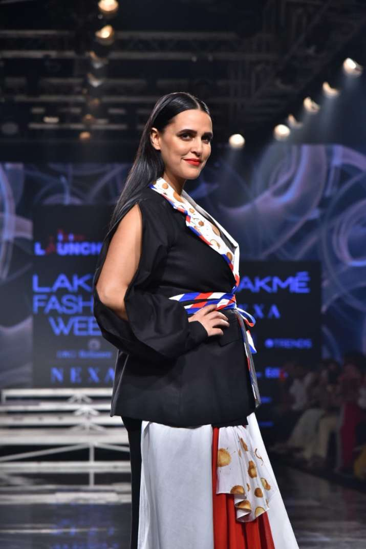 Lakme fashion week, neha dhupia