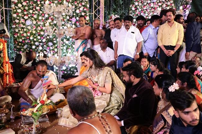 Rakshita and ravi kumar wedding