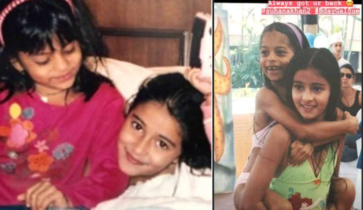 अनन्या पांडे ने सुहाना के साथ शेयर की फोटो