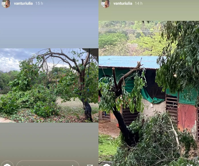 lulia vantur instagram story