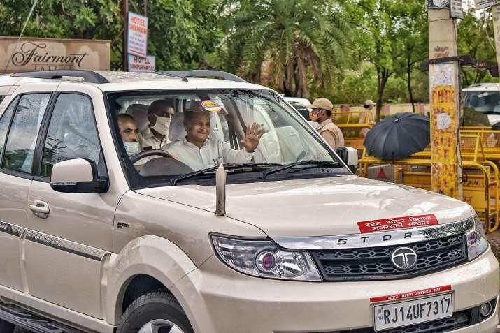 Rajasthan latest news bjp leader meet governor targets ashok gehlot । राज्यपाल से मिले BJP के नेता,