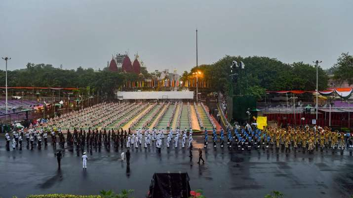 Dress rehearsal for Independence Day