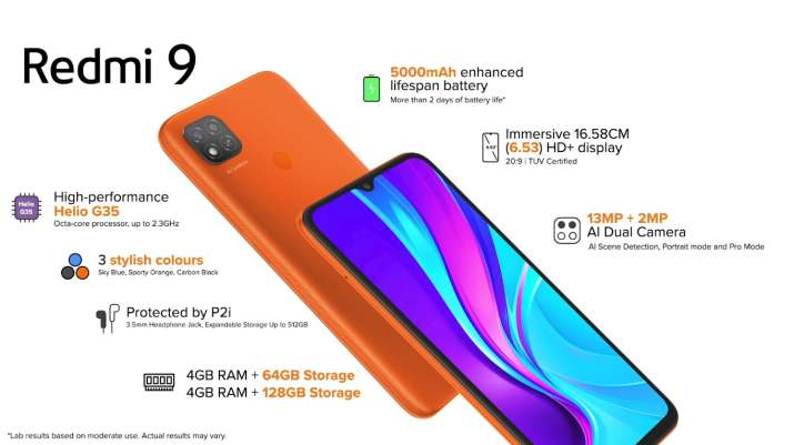 Redmi launched Redmi9 in india at Rs 8999 with premium specs