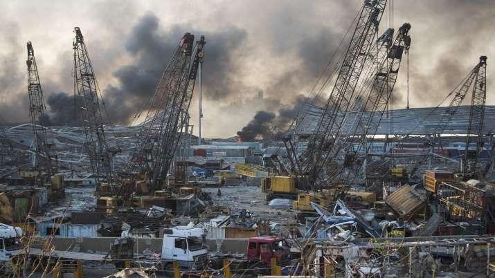 Lebanon Blasts: 2,750 Tonnes Of Ammonium Nitrate Exploded, Says PM On Beirut Blasts