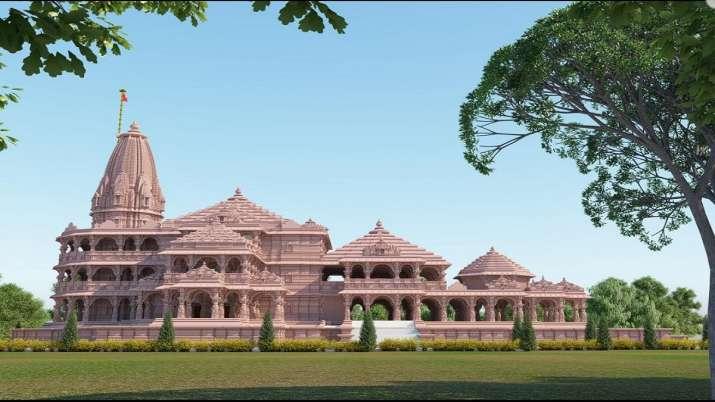 Ram Mandir Model Images । Ram Mandir: देखिए कैसा होगा भव्य मंदिर, तस्वीरें कर देंगी अचंभित