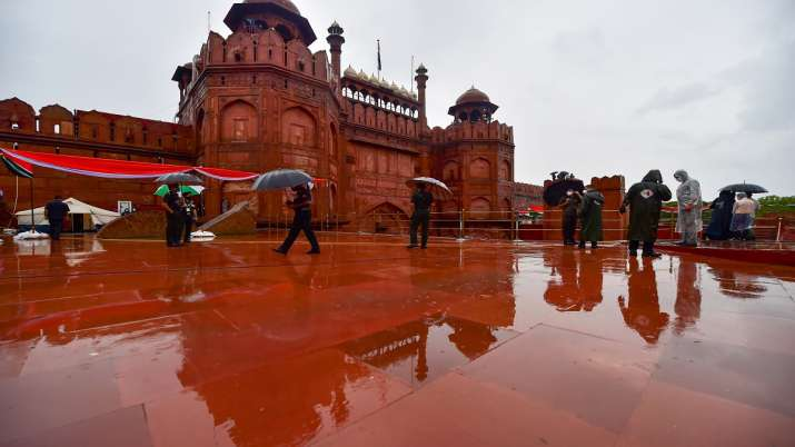 Dress rehearsal for Independence Day celebrations held at Red Fort