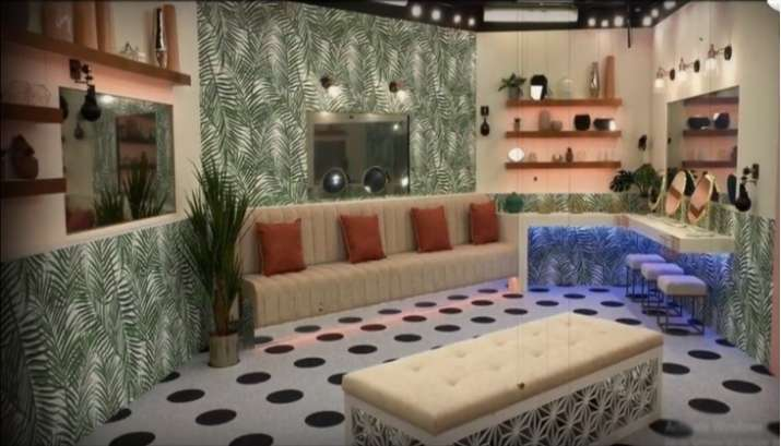 bigg boss 14 house leaked pictures