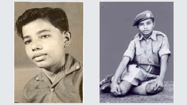 पीएम मोदी के बचपन की तस्वीरें