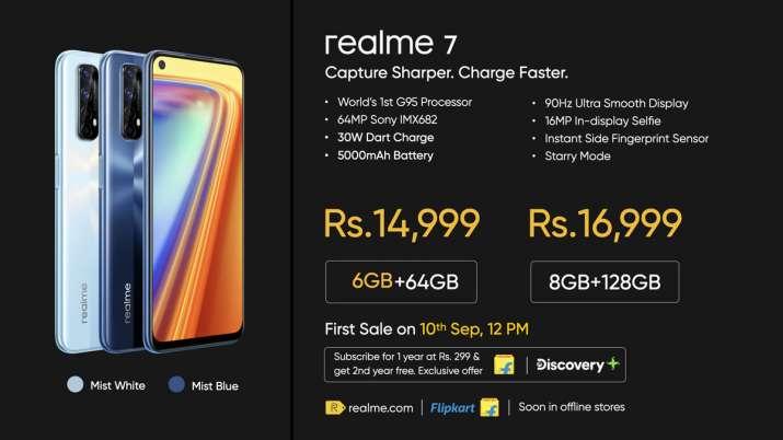 Realme 7 Pro, Realme 7 launched in India