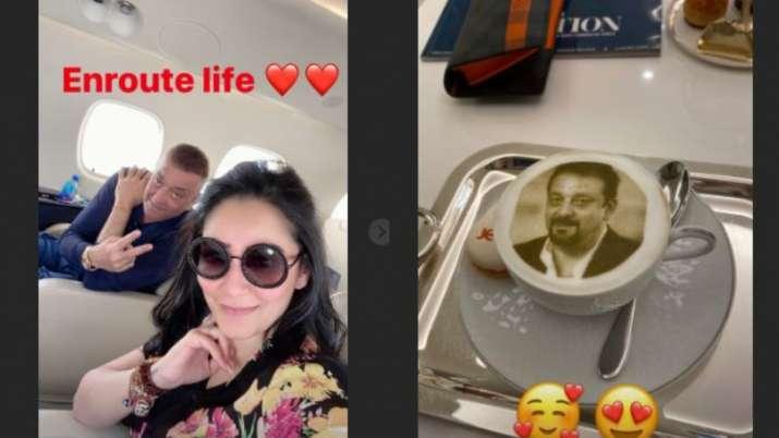 maanayata dutt instagram story