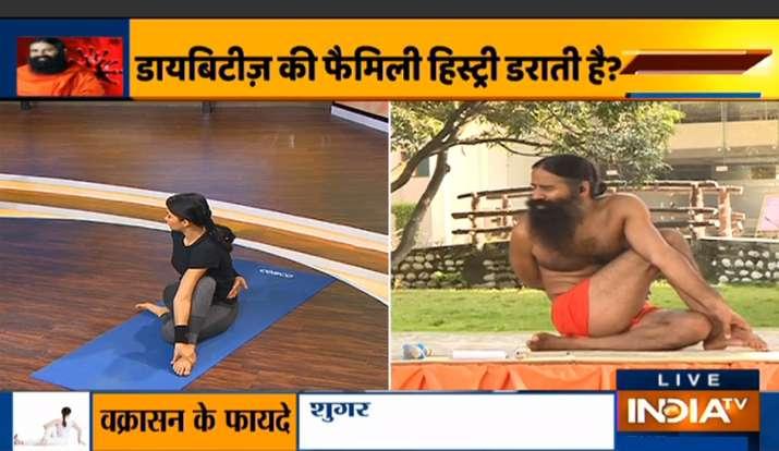 घर पर रहकर कैसे करें ब्लड शुगर कंट्रोल, yoga for diabetes