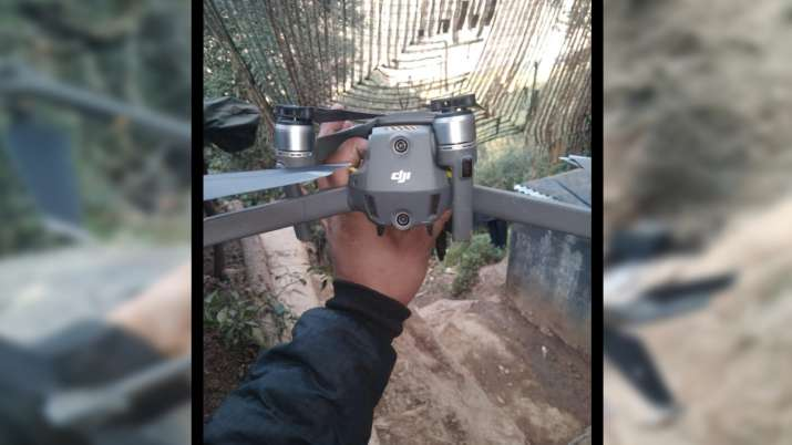 चीन में बने पाकिस्तानी ड्रोन को भारतीय सेना ने मार गिराया