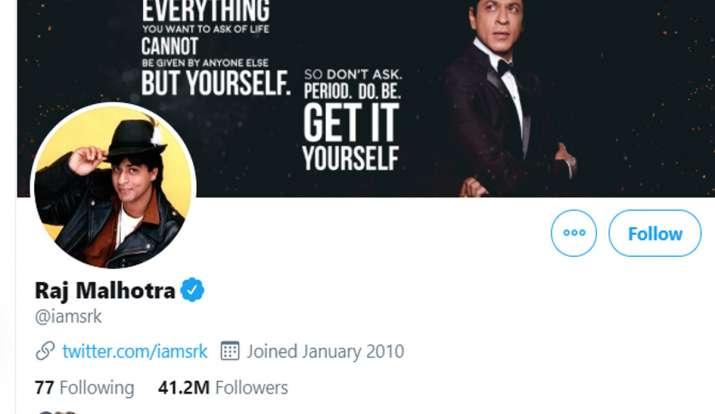 DDLJ के 25 साल पूरे होने पर शाहरुख खान और काजोल ने ट्विटर पर बदला अपना नाम