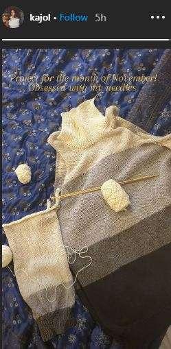Kajol Knitting sweater