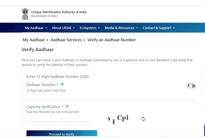 how to check your aadhaar card fake or real check UIDAI details