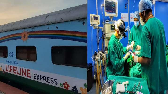 भारतीय रेलवे ने बनाई दुनिया की पहली अस्पताल ट्रेन