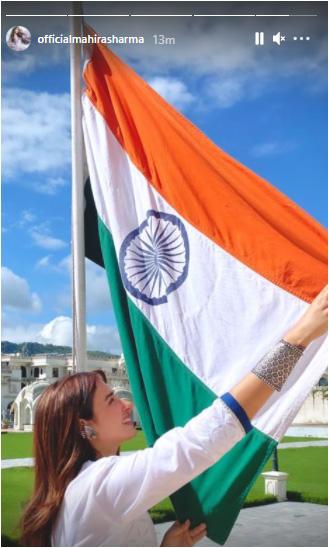 माहिरा शर्मा ने शेयर की फोटो