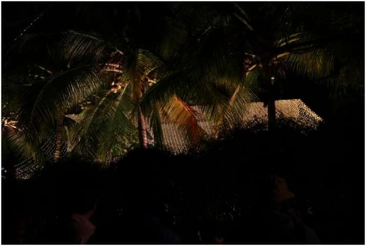 Pictures outside Varun Dhawan Natasha Dalal wedding venue