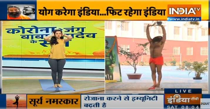 best yogasan and pranayam for healthy body