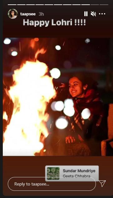 Happy Lohri 2021: कंगना रनौत से तापसी पन्नू तक, बॉलीवुड सेलेब्स ने इस अंदाज में दी लोहड़ी की बधाई