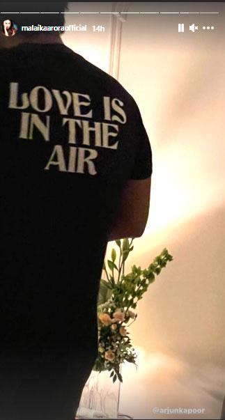 malaika shares arjun kapoor pic on valentines day