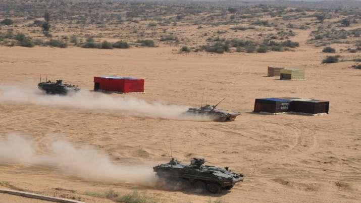 युद्धाभ्यास: अमेरिका संग मिलकर गरजे भारत के टैंक और हेलीकॉप्टर, देखिए VIDEO