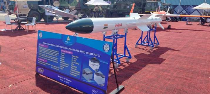 New Generation Anti Radiation missile (NGARM) Rudram