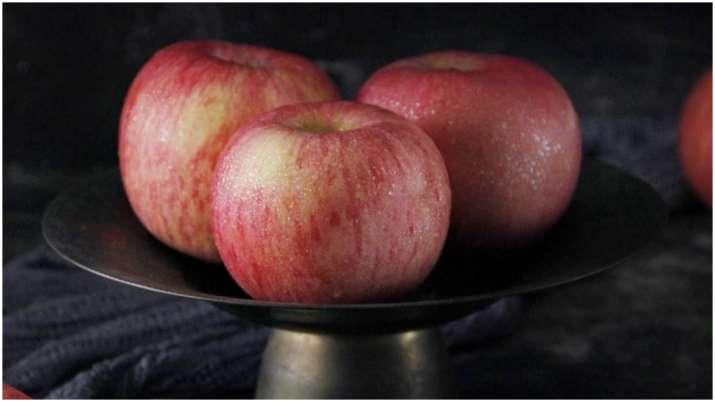Apple for glowing skin